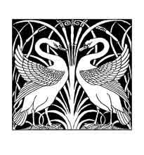 CISNES. El cisne es un pájaro inmaculado, representa la luz. Hay dos blancuras, dos luces, la del día solar macho y de la noche, lunar y hembra. La síntesis de los dos es símbolo del andrógino y representa el mayor misterio sagrado, la unión