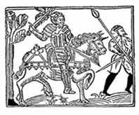 DON QUIJOTE DE LA MANCHA. Portada de la primera edición portuguesa 1605