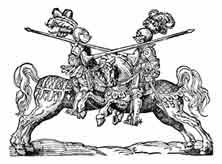 TORNEO. Xilografía Josst Amman 1562
