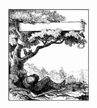 EL DURMIENTE. Dibujo y adaptación de Ex libris personal sobre el original