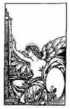 PINTURA.Anónimo finales del siglo XiX, principios del XX.Dibujo y adaptación de Ex libris personal sobre el original
