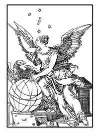 URANIA. Diosa de la Astronomía