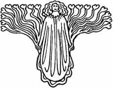 ANGEL DEL AMOR. Dibujo y adaptación de Ex libris personal sobre el original