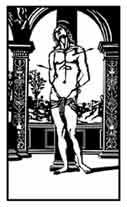 SAN SEBASTIAN .Perugino. Dibujo y adaptación de Ex libris personal sobre el original