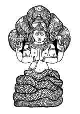 Patanjali. Dios del yoga