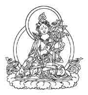 TARA BLANCA.Dentro del budismo tibetano Tara es considerada como una buda de compasión y acción. Es la