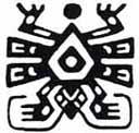 Araña Mexico. Dibujo y adaptación de Ex libris personal sobre el original