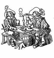 FUMADORES. Dibujo y adaptación de Ex libris personal sobre el original