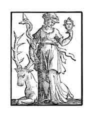 LA PRUDENCIA Mujer con dos rostros por que esta virtud recuerda las cosas del pasado, ordena las presentes y prevé las futuras. Mirarse al espejo significa el conocimiento de uno mismo, no se pueden regular las acciones sin tener un conocimiento de los propios defectos. \\\