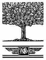 ENCINA ROBLE. Es simbolo de fuerza y árbol sagrado en numerosas tradiciones. Indica solidez, potencia, longevidad, altura, tanto en el sentido espiritual como material. Dibujo y adaptación de Ex libris personal sobre el original