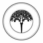 ÁRBOL MODERNISTA.Se trata de un diseño de joyería de Alphonse Mucha.