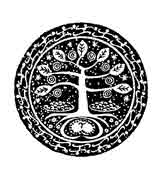 ARBOL MANDALA BUDISTA.El árbol Bodhi  (higuera) debajo de el cual Buda se sentó a meditar, alcanzando la iluminación espiritual.