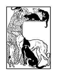 Theophile-Alexandre Steilen Francia. Dibujo y adaptación de Ex libris personal sobre el original