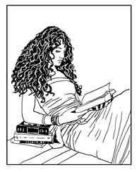 Dibujo de Ex Libris Personal